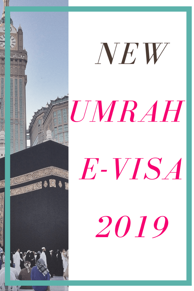 New Umrah E-Visa pinterest