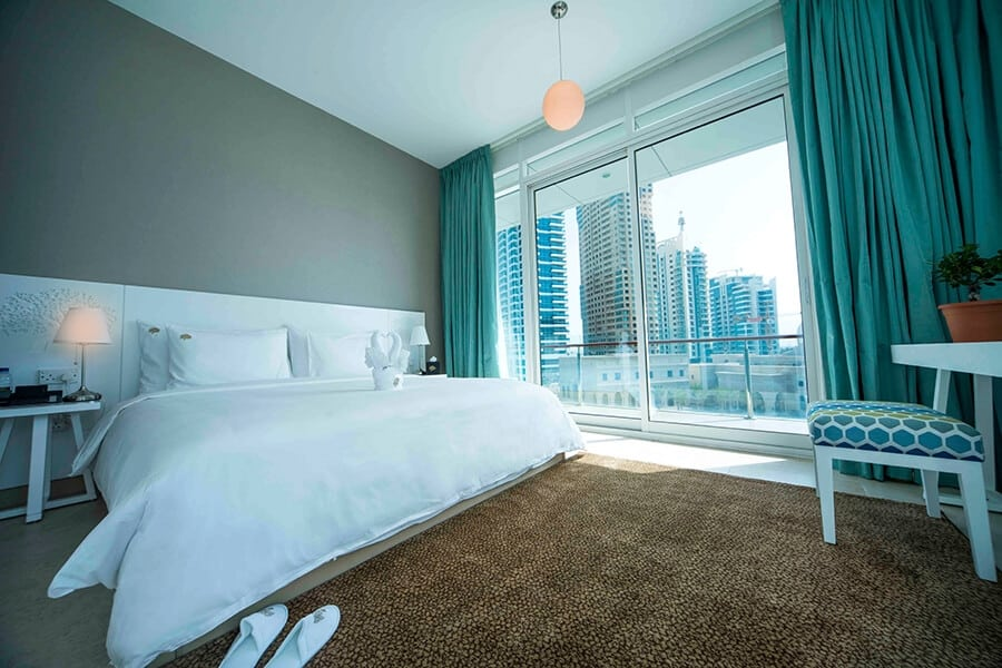 Halal Hotel in the Middle East Jannah Dubai Marina