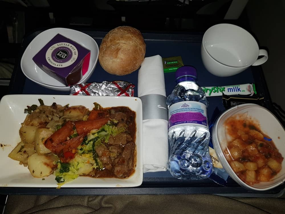 British Airways Premium Economy review photos