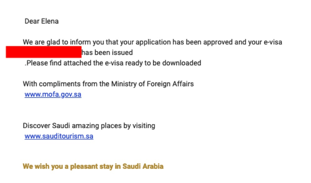 The Saudi tourist visa is Here and it is a Game-Changer