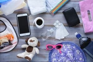 accessories for travelling with a newborn