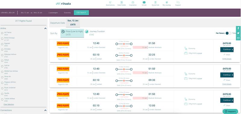 choosing flights