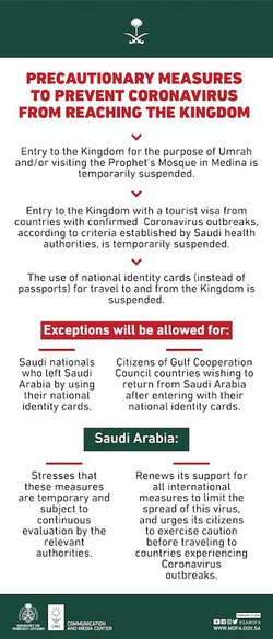 saudi umrah suspension