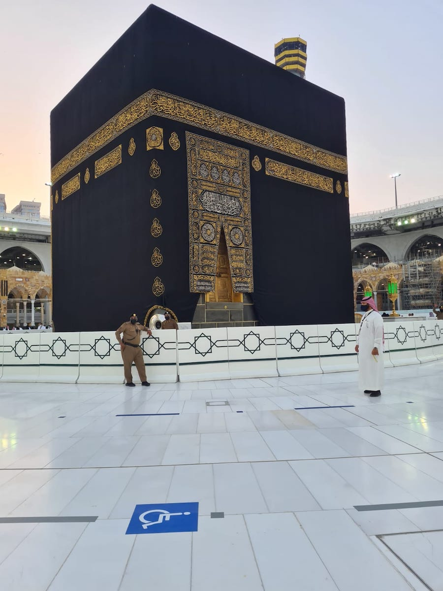 Experience of Umrah with the new Covid rules2