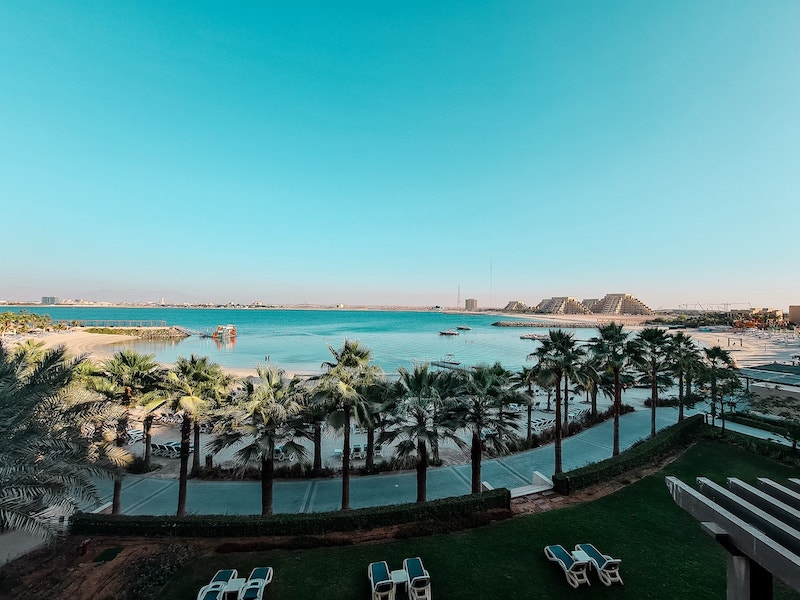 Hotel Review: Doubletree Hotel Ras Al Khaimah - the view from our room