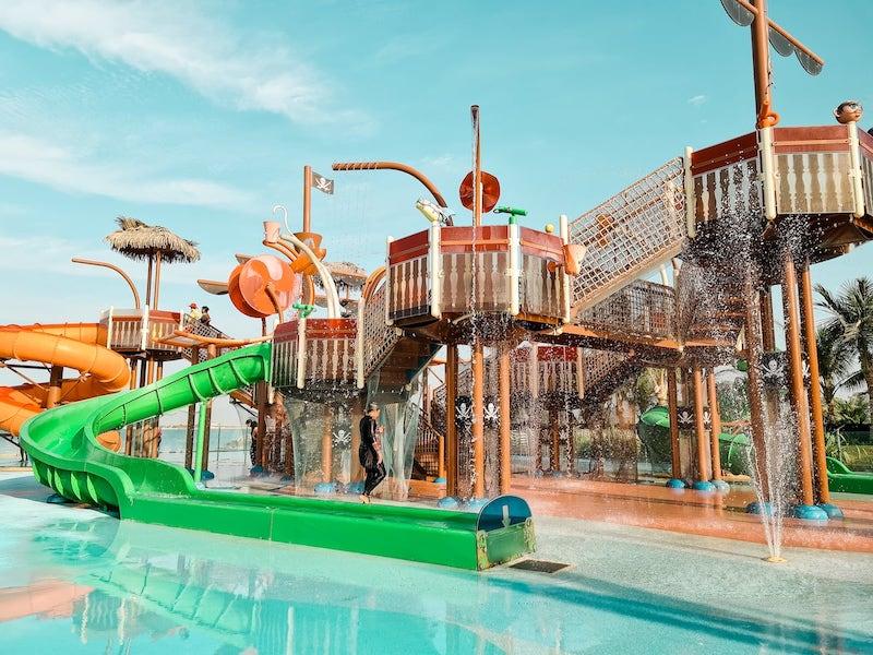 Hotel Review: Doubletree Hotel Ras Al Khaimah - waterpark
