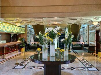 Hilton Medinah hotel review lobby